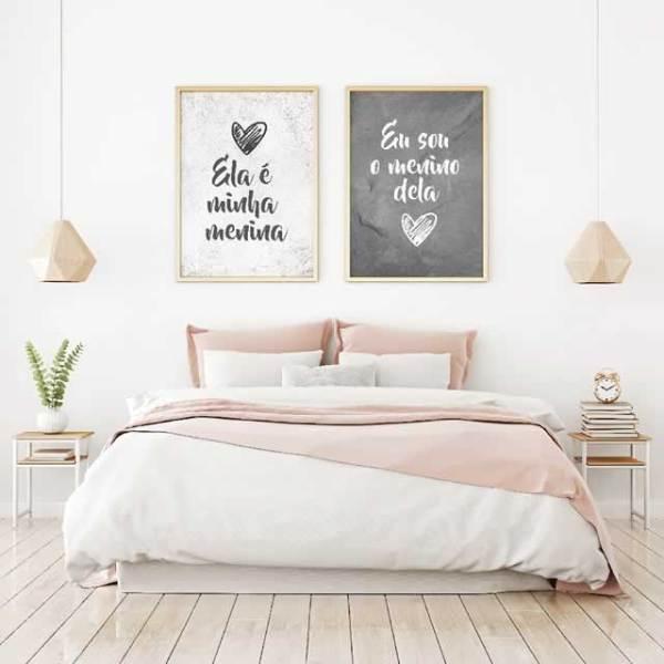 Inspiração para quartos.