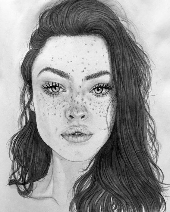 Menina desenho tumblr