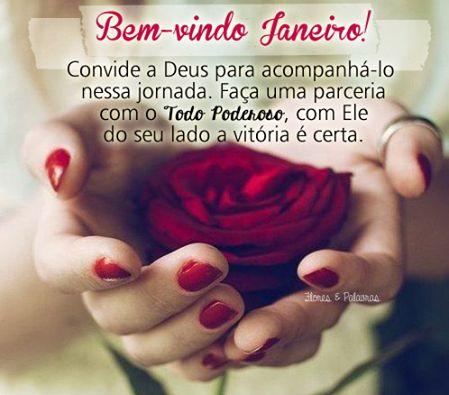 Bem-vindo Janeiro com Deus