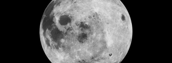 a lua mais clara