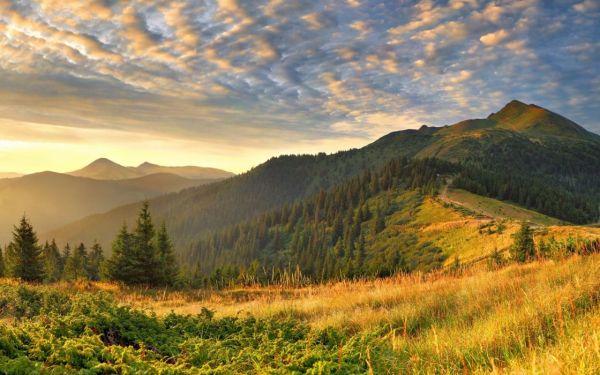 linda natureza e paisagem