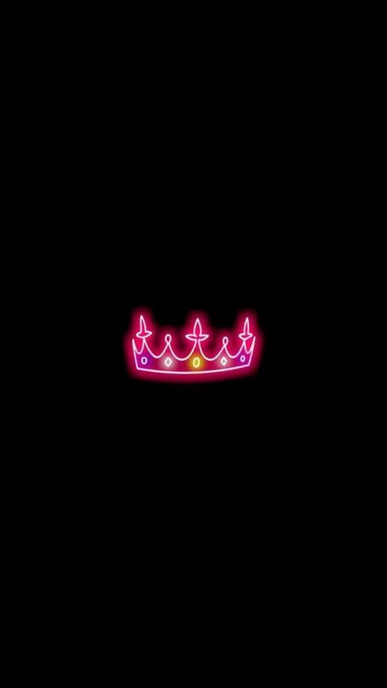 papel de parede, coroa rosa