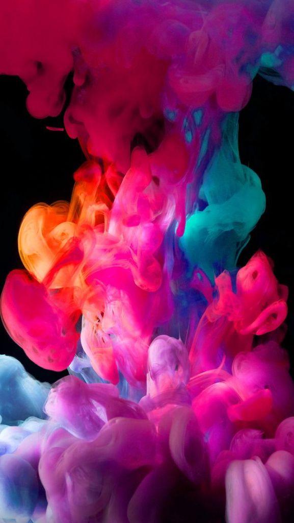 o colorido da imagem