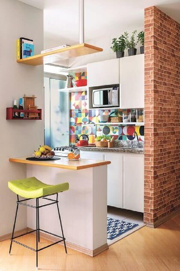 Cozinha simples e muito linda.
