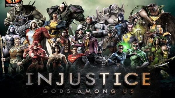 Injustice jogo viciante.