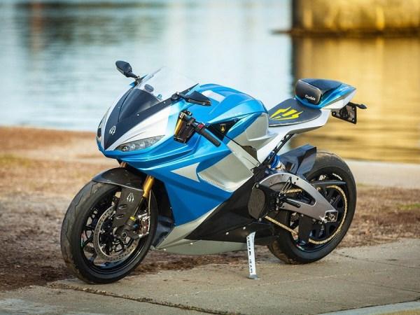 moto Lightning LS-218 de cor