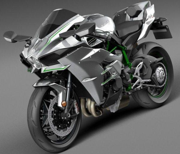 moto H2R bem linda