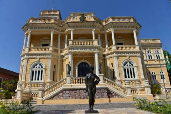 palácio bonito e histórico