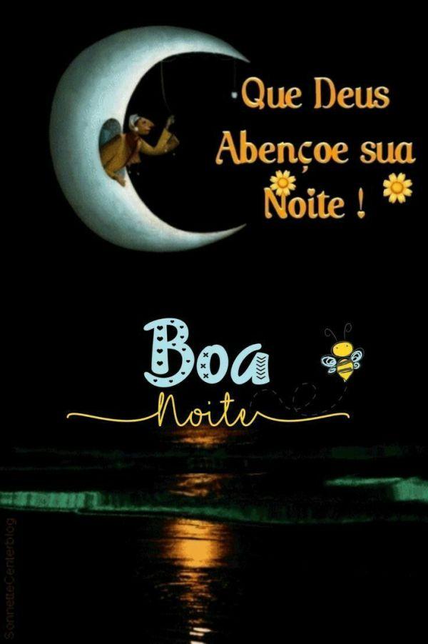 Boa noite.com bênçãos de Deus