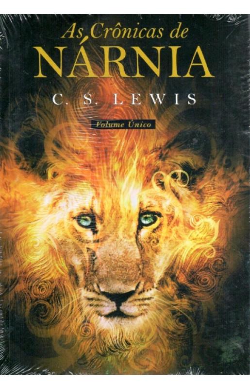 """Livro """"As crônicas de nárnia."""""""