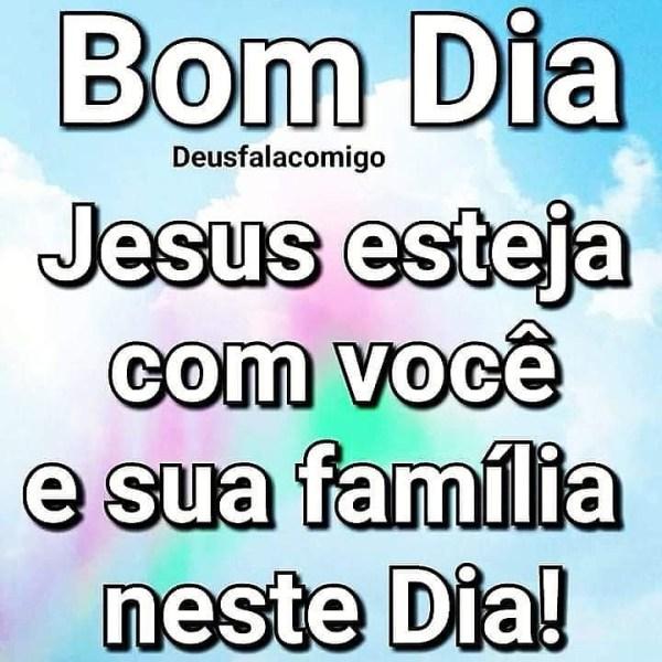 dia abençoado por Jesus