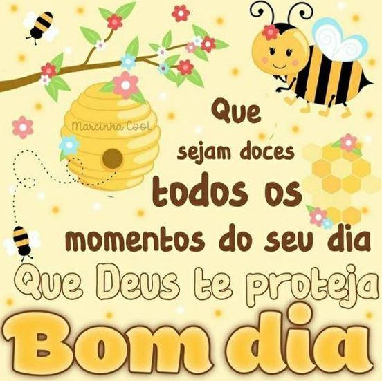 Mensagens bom dia abelhas