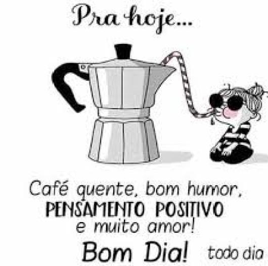 bom dia com humor café