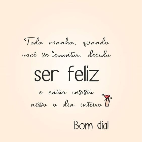 Decida ser feliz