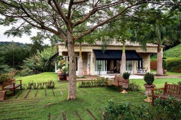 casa no campo linda