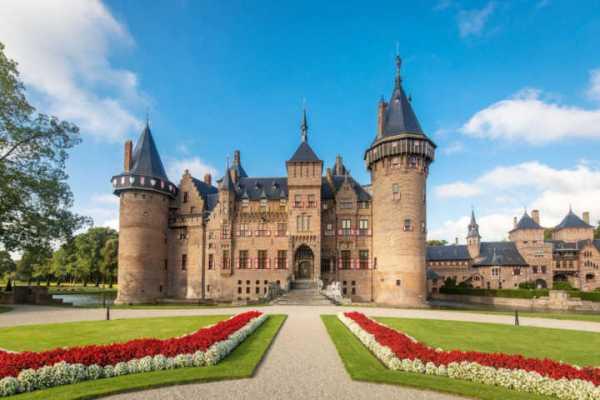 castelo e seu jardim