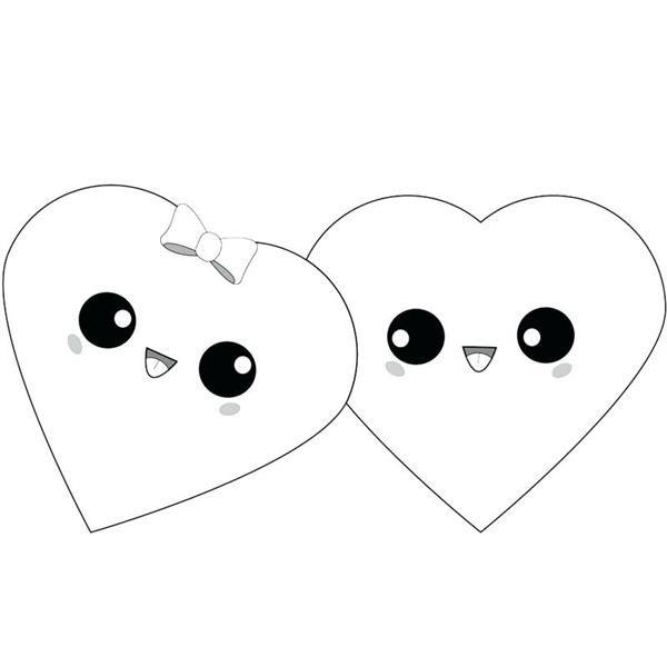 corações kawaii tumblr