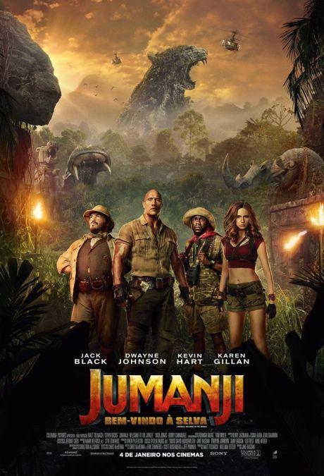 Jumanji: Bem-vindo à selva.