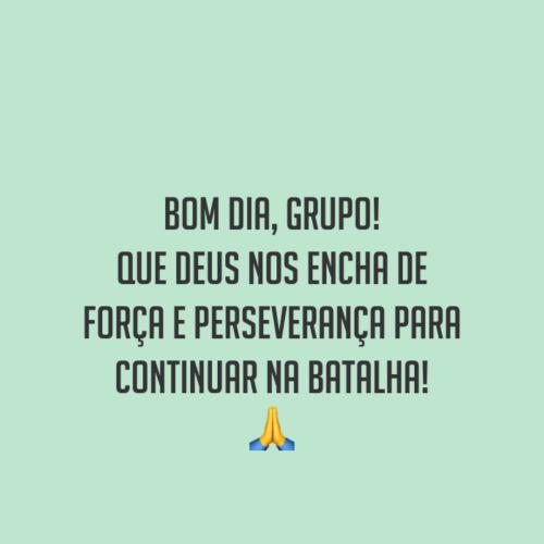 Grupos de Deus