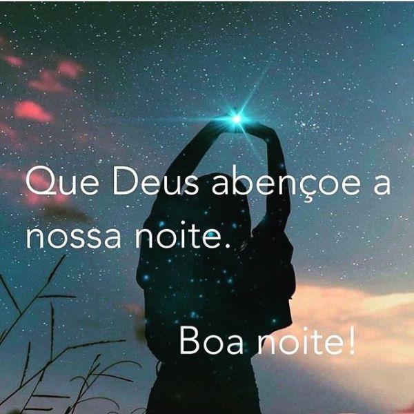 Mensagem de Deus para boa noite.