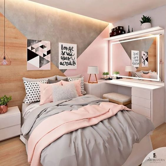 Decoração de quarto para menina.