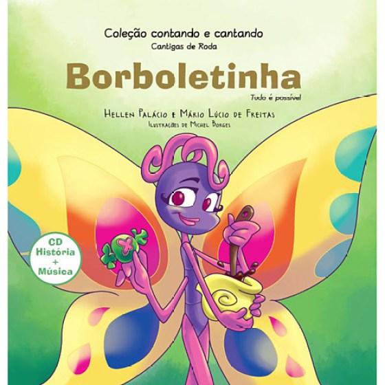 Livro'' Borboletinha ''