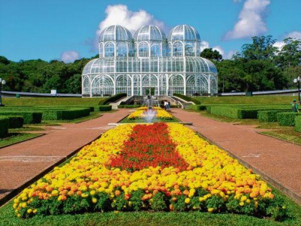 jardins floridos colorido