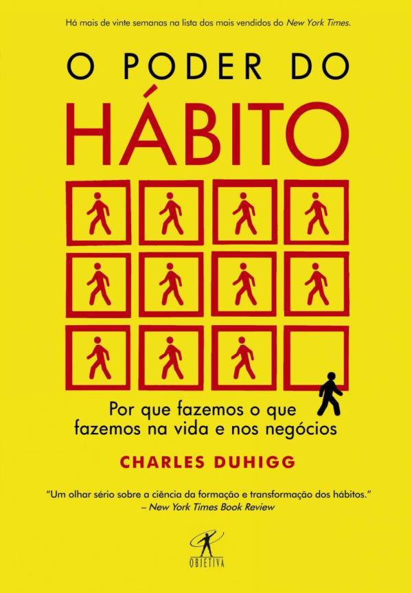 O Poder do hábito livro.