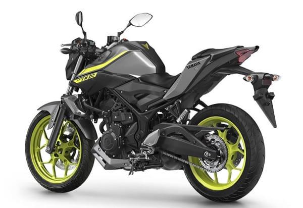 moto potente dourada