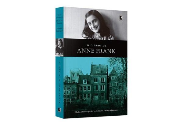Livro o diário de Anne Frank.