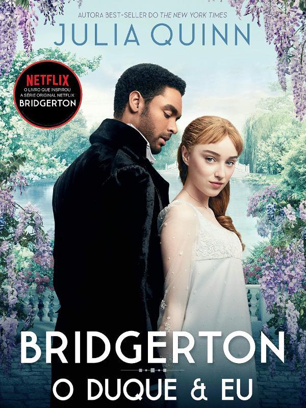 Livro Bridgerton maravilhoso.