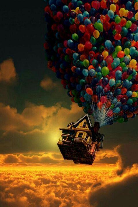 Papel de parede balões