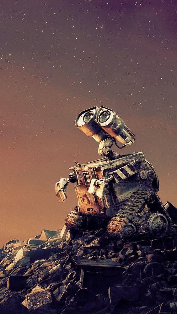 Papel de parede robô