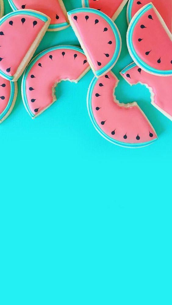 Papel de parede melancia