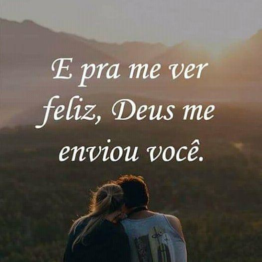 Deus me enviou você