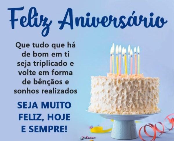 muito feliz aniversario
