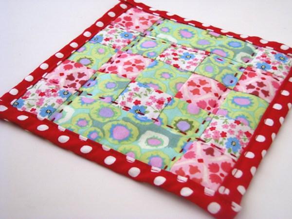 artesanato almofada com tecido