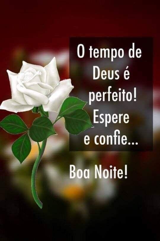 Boa noite confie em Deus