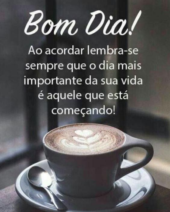 Bom dia café e benção