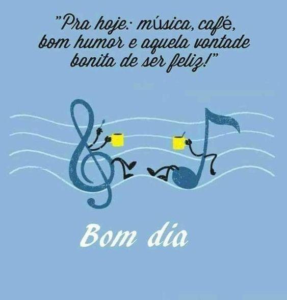 bom dia engraçado com música