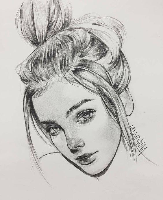 desenho realista bonitinho