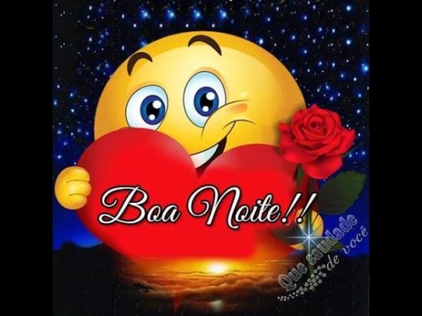 flor de emoji boa noite