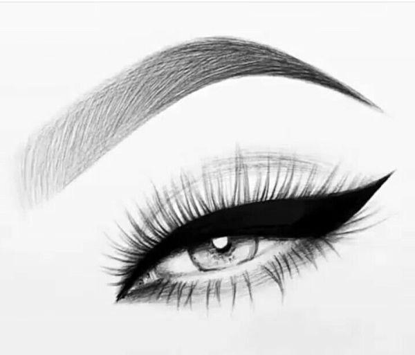 olho desenho realista