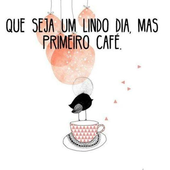 Belo bom dia com café