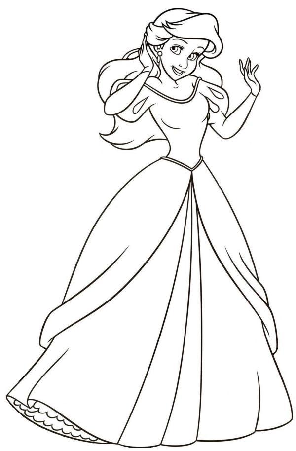 Vestido perfeito da Ariel