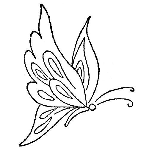 Lindas borboletinhas para pintar