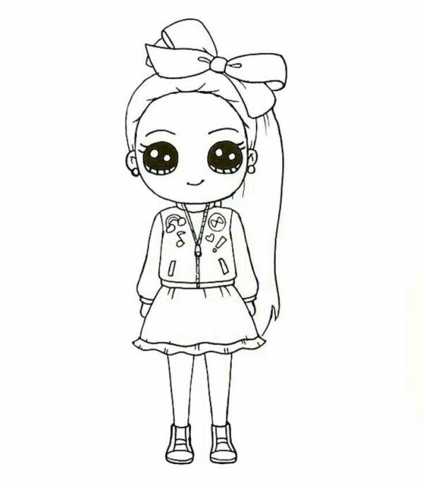 Desenho de boneca