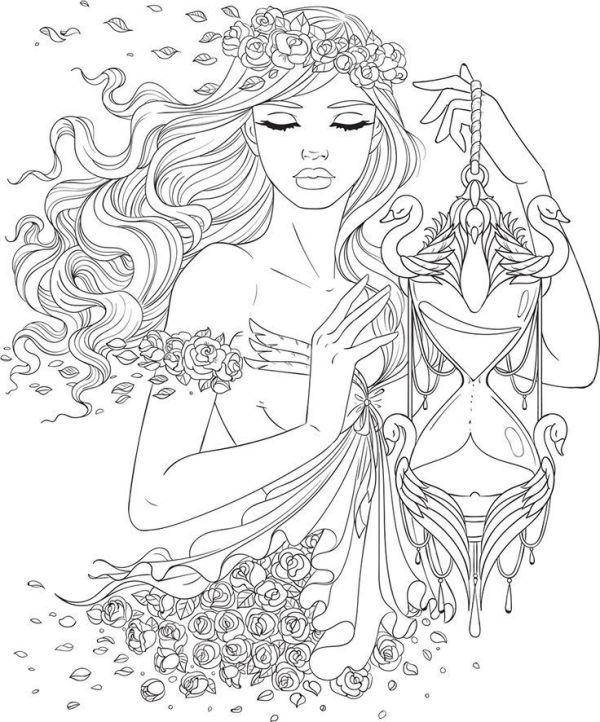 Desenho para colorir tumblr