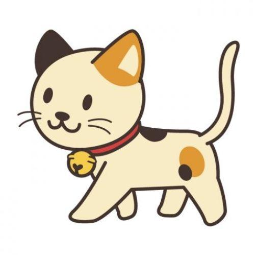 Fofo desenho gatinho.