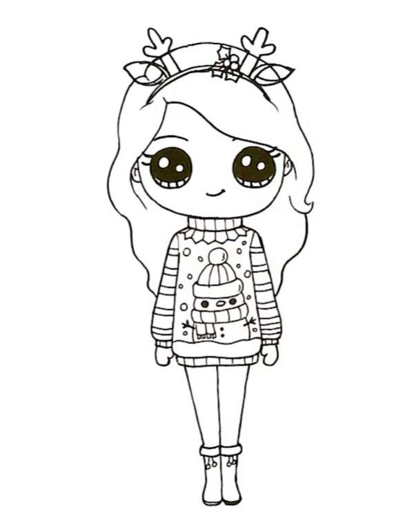 desenho fofo kawaii